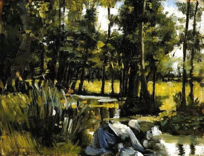 印象派 美国艺术家Philip Leslie Hale (1865~1931)插图33