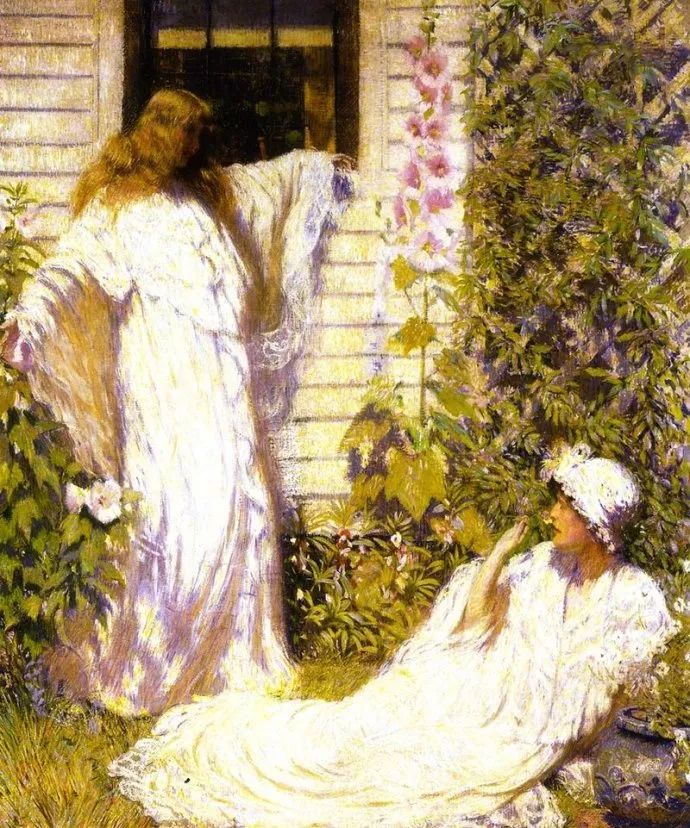 印象派 美国艺术家Philip Leslie Hale (1865~1931)插图37