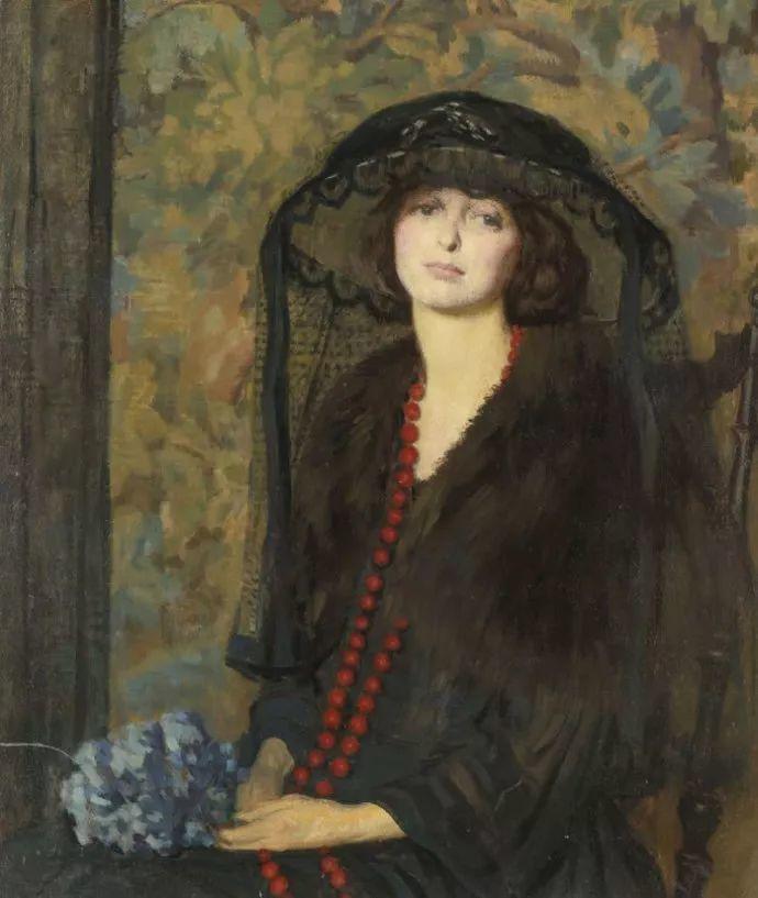 印象派 美国艺术家Philip Leslie Hale (1865~1931)插图39