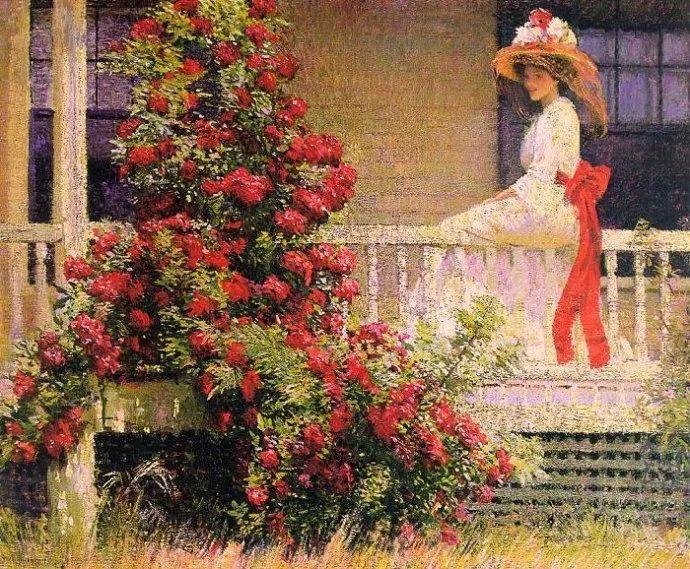 印象派 美国艺术家Philip Leslie Hale (1865~1931)插图43