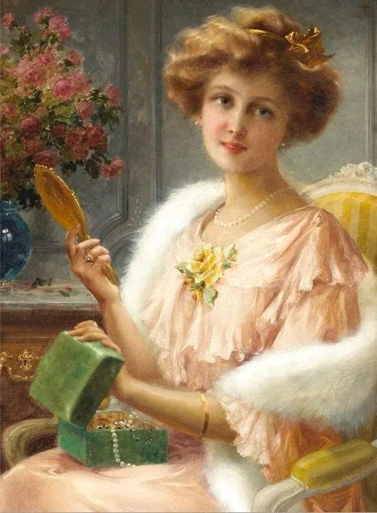 学院派 法国画家Emile Vernon作品二插图39