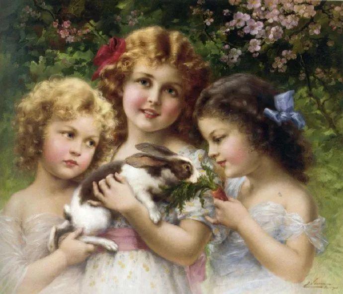 擅长女性绘画  法国画家Emile Vernon(1872–1919)插图5