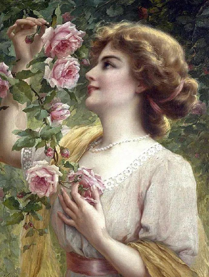 擅长女性绘画  法国画家Emile Vernon(1872–1919)插图13