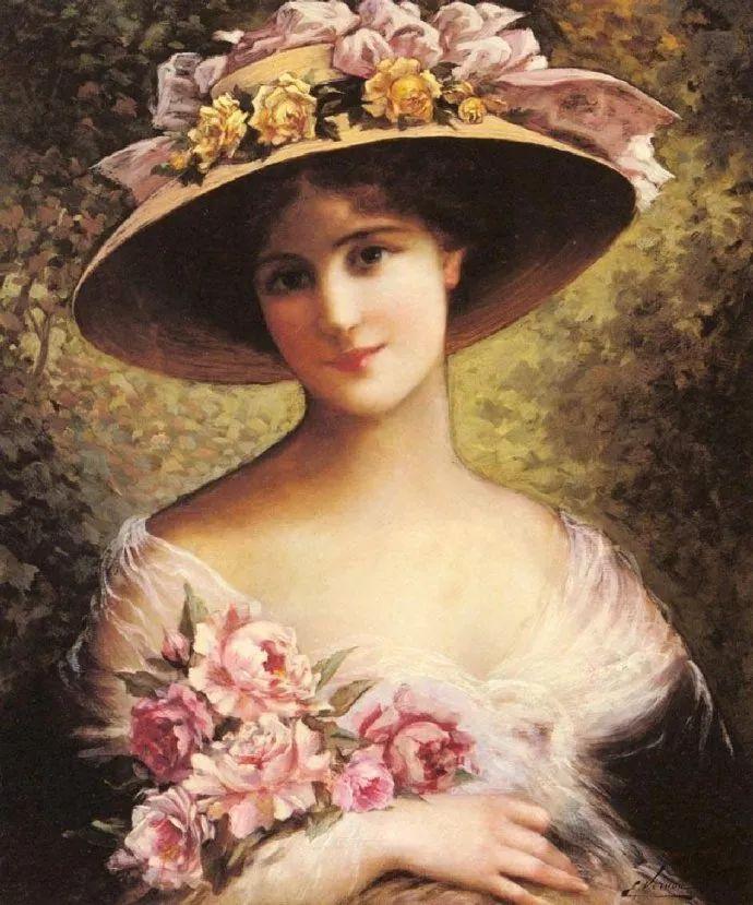 擅长女性绘画  法国画家Emile Vernon(1872–1919)插图17