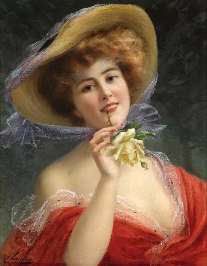 擅长女性绘画  法国画家Emile Vernon(1872–1919)插图19