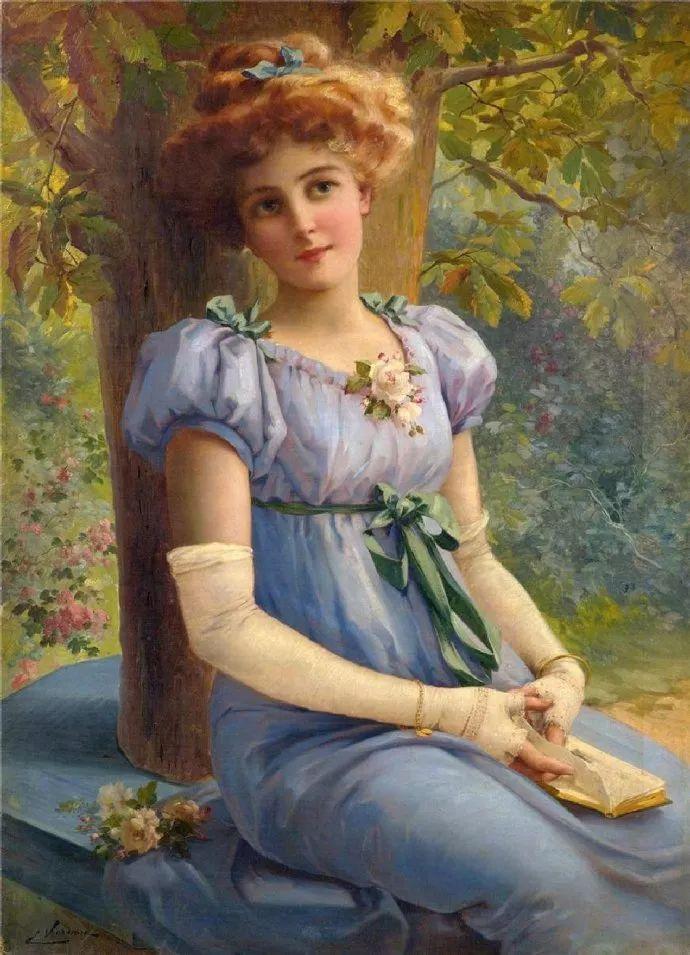 擅长女性绘画  法国画家Emile Vernon(1872–1919)插图25