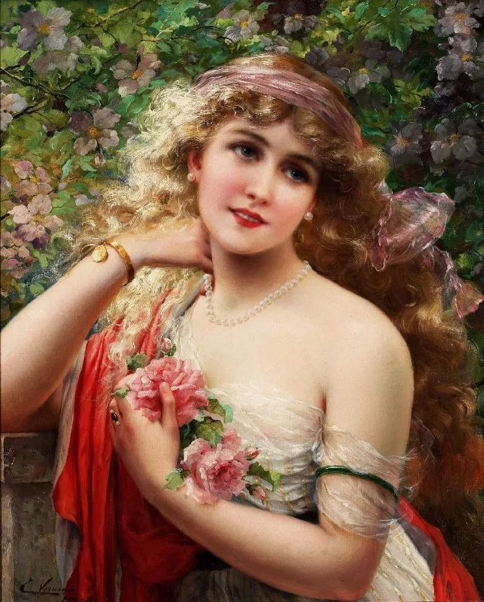 擅长女性绘画  法国画家Emile Vernon(1872–1919)插图29