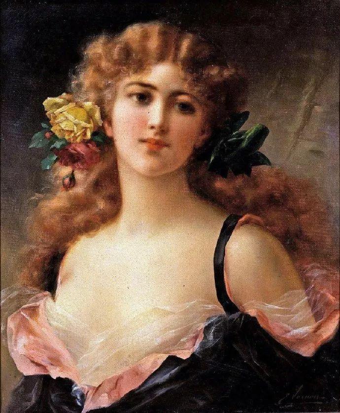 擅长女性绘画  法国画家Emile Vernon(1872–1919)插图31