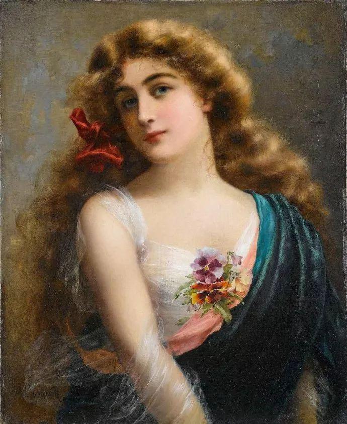 擅长女性绘画  法国画家Emile Vernon(1872–1919)插图35