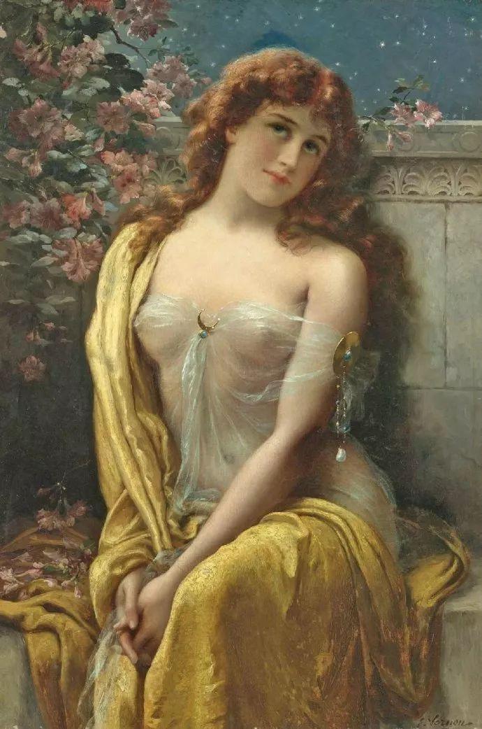 擅长女性绘画  法国画家Emile Vernon(1872–1919)插图39