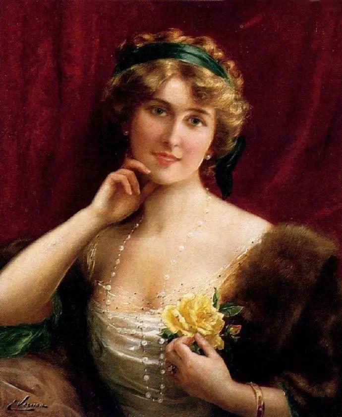 擅长女性绘画  法国画家Emile Vernon(1872–1919)插图47