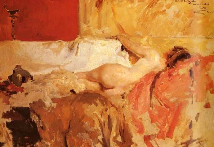 印象派 西班牙画家Joaquín Sorolla y Bastida插图27