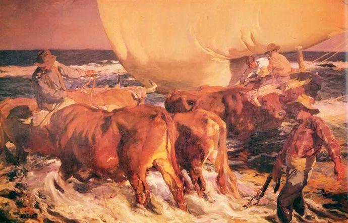 印象派 西班牙画家Joaquín Sorolla y Bastida插图31