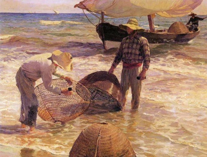 印象派 西班牙画家Joaquín Sorolla y Bastida插图35