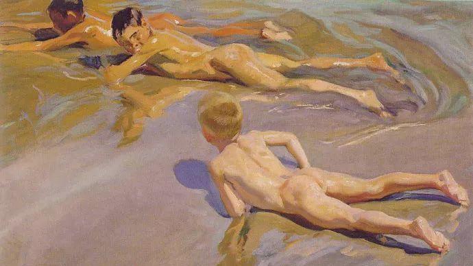 印象派 西班牙画家Joaquín Sorolla y Bastida插图39