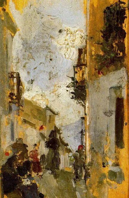 印象派 西班牙画家Joaquín Sorolla y Bastida插图41