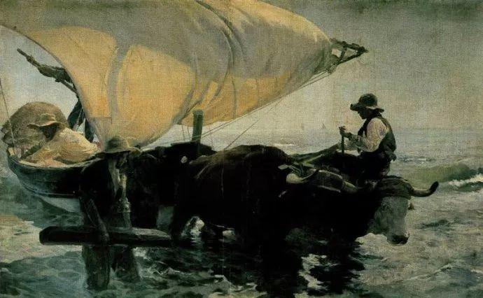 印象派 西班牙画家Joaquín Sorolla y Bastida插图49