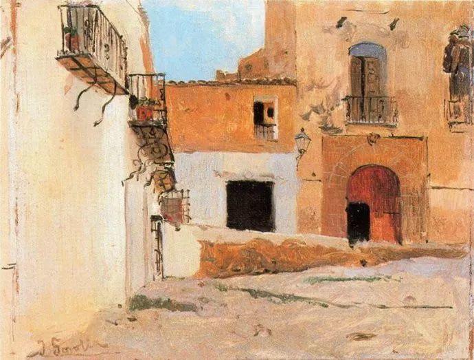 印象派 西班牙画家Joaquín Sorolla y Bastida插图71