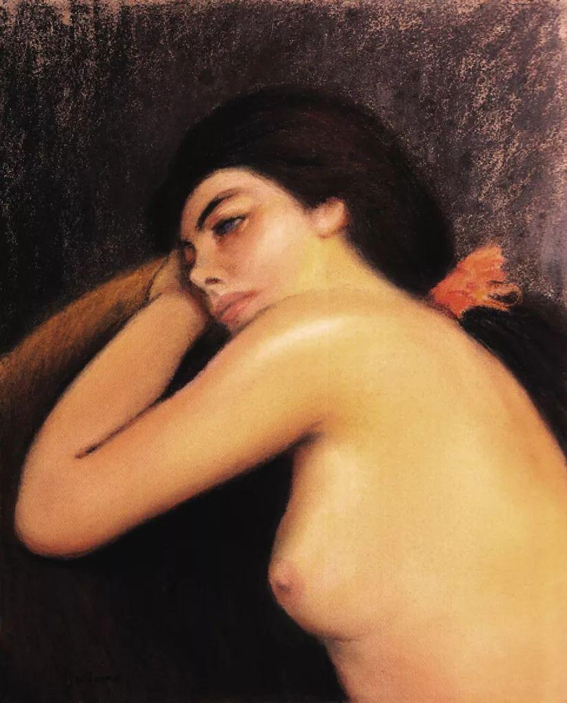 意大利印象派画家Federico Zandomeneghi作品二插图17