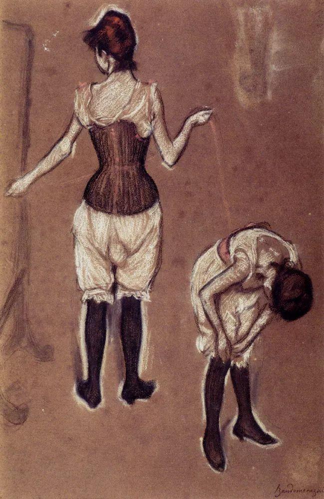 意大利印象派画家Federico Zandomeneghi作品二插图19