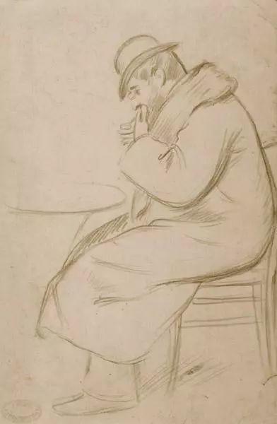 意大利印象派画家Federico Zandomeneghi作品二插图23
