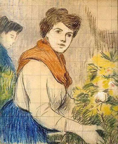 意大利印象派画家Federico Zandomeneghi作品二插图27