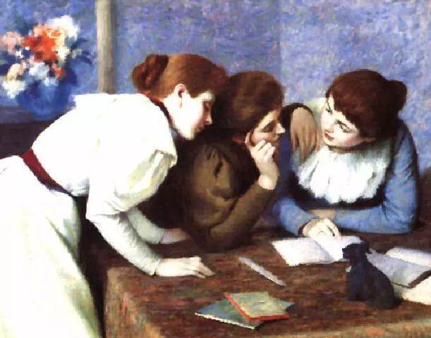 意大利印象派画家Federico Zandomeneghi作品二插图29