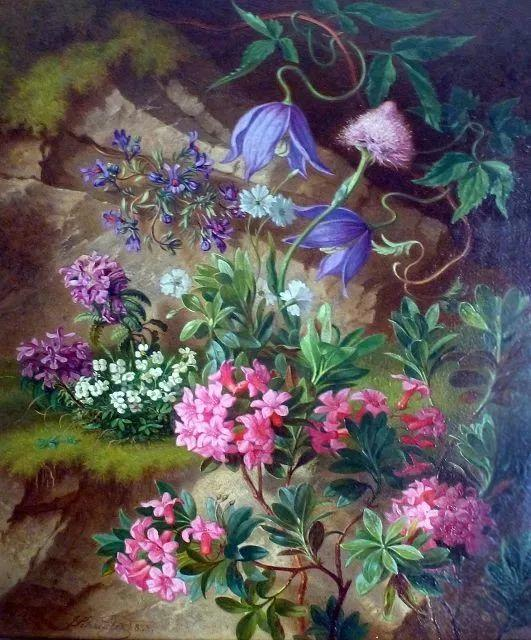 奥地利画家Josef Schuster (Austrian, 1812–1890)插图1