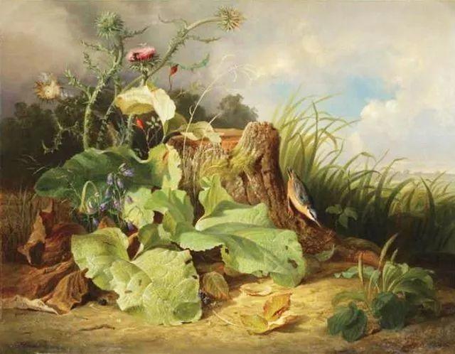 奥地利画家Josef Schuster (Austrian, 1812–1890)插图3