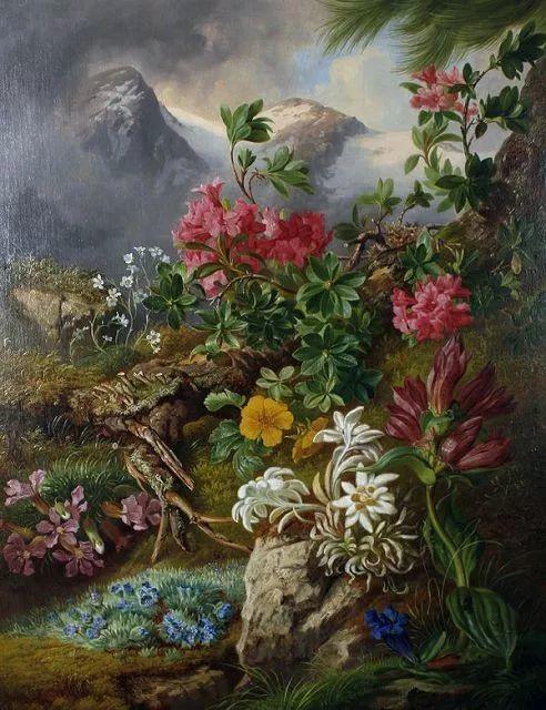 奥地利画家Josef Schuster (Austrian, 1812–1890)插图5