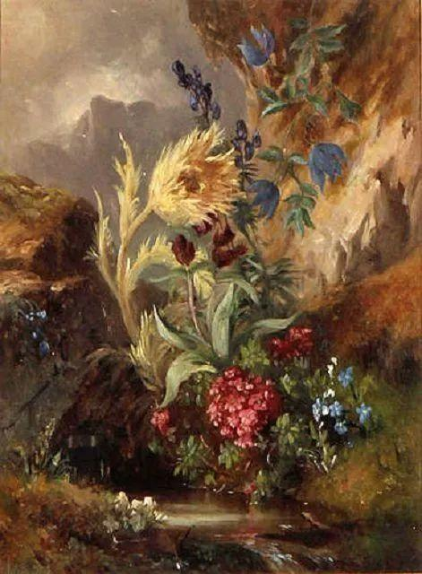 奥地利画家Josef Schuster (Austrian, 1812–1890)插图9