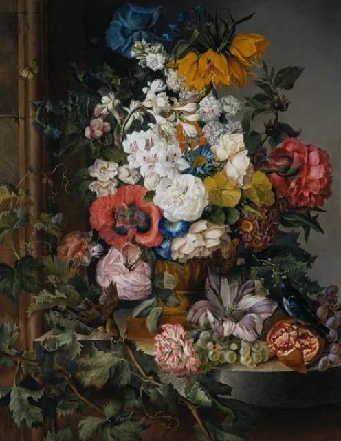 奥地利画家Josef Schuster (Austrian, 1812–1890)插图11