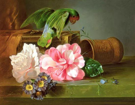 奥地利画家Josef Schuster (Austrian, 1812–1890)插图17