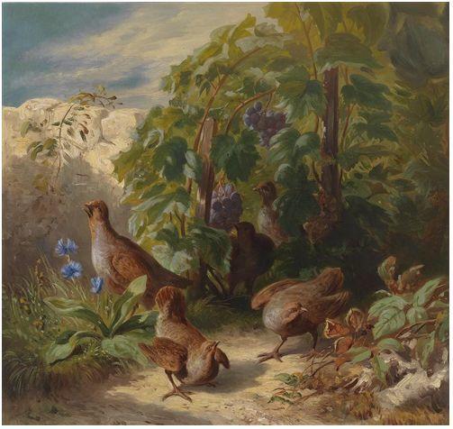 奥地利画家Josef Schuster (Austrian, 1812–1890)插图19