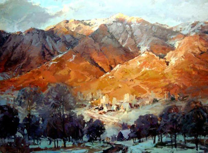 风景画 美国画家Steve Songer作品欣赏插图1