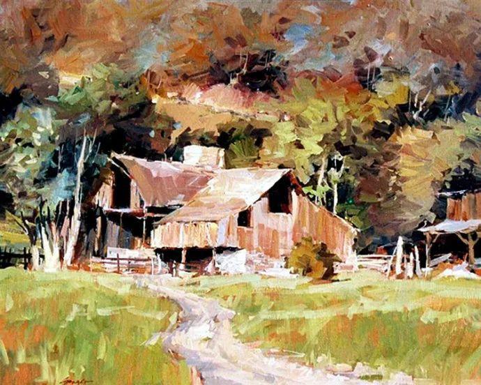 风景画 美国画家Steve Songer作品欣赏插图9
