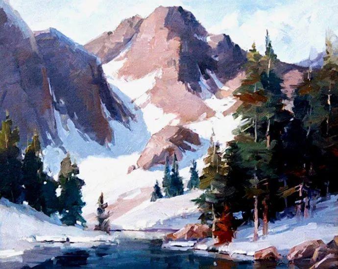 风景画 美国画家Steve Songer作品欣赏插图11