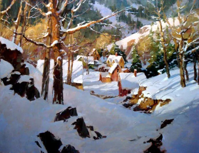 风景画 美国画家Steve Songer作品欣赏插图17