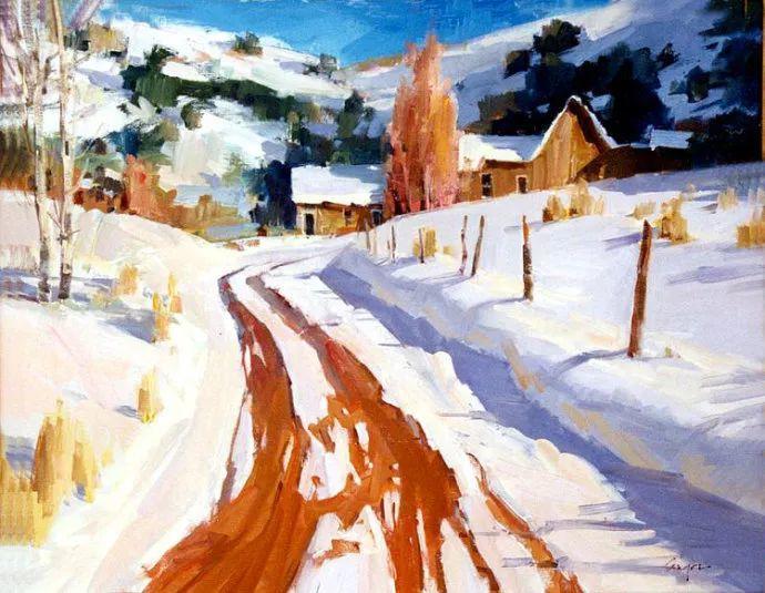 风景画 美国画家Steve Songer作品欣赏插图23