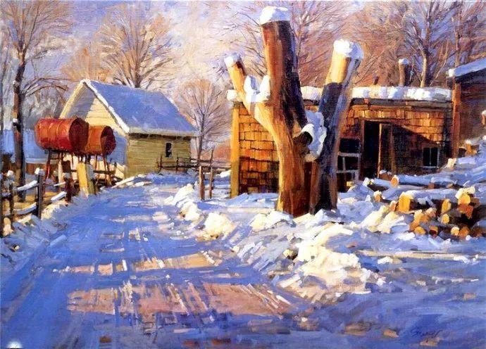 风景画 美国画家Steve Songer作品欣赏插图27