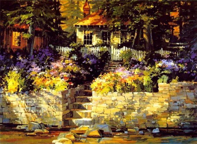 风景画 美国画家Steve Songer作品欣赏插图31