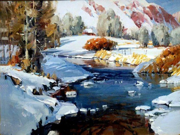 风景画 美国画家Steve Songer作品欣赏插图33