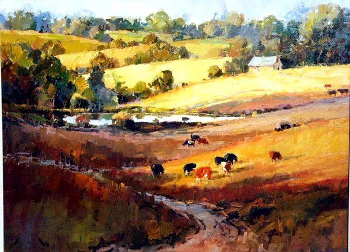 风景画 美国画家Steve Songer作品欣赏插图75