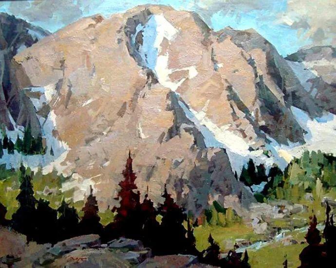 风景画 美国画家Steve Songer作品欣赏插图79