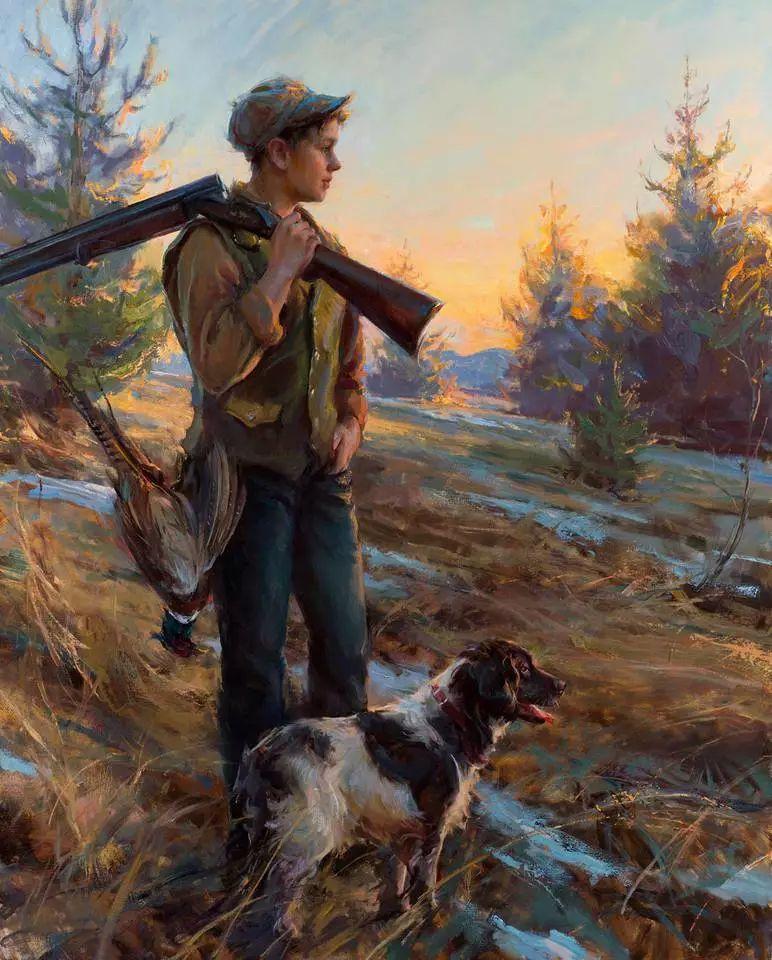 浪漫写实主义风格 美国画家Daniel F.Gerhartz作品二插图7