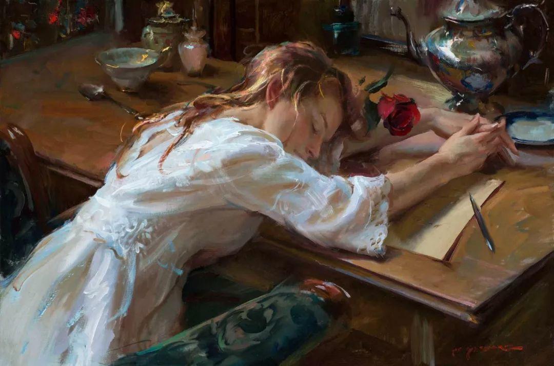 浪漫写实主义风格 美国画家Daniel F.Gerhartz作品二插图15
