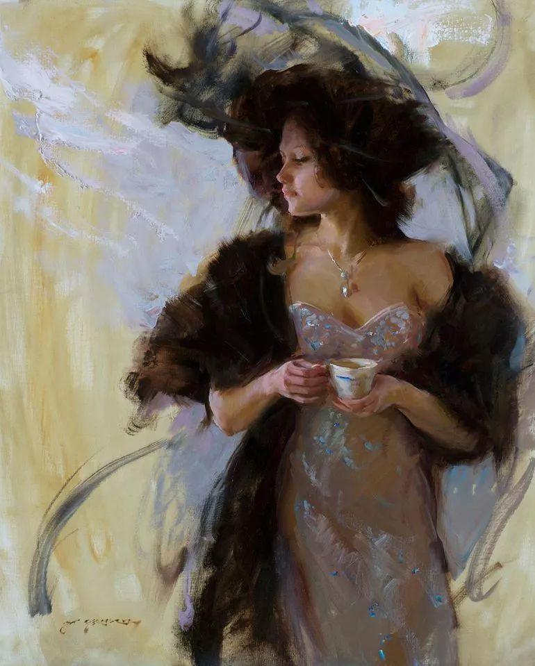 浪漫写实主义风格 美国画家Daniel F.Gerhartz作品二插图23