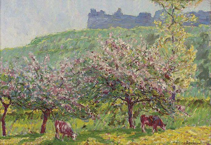 英国印象派画家Wynford Dewhurst插图3