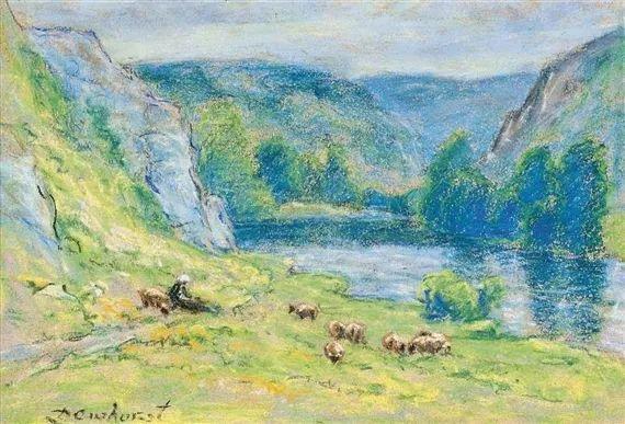 英国印象派画家Wynford Dewhurst插图9