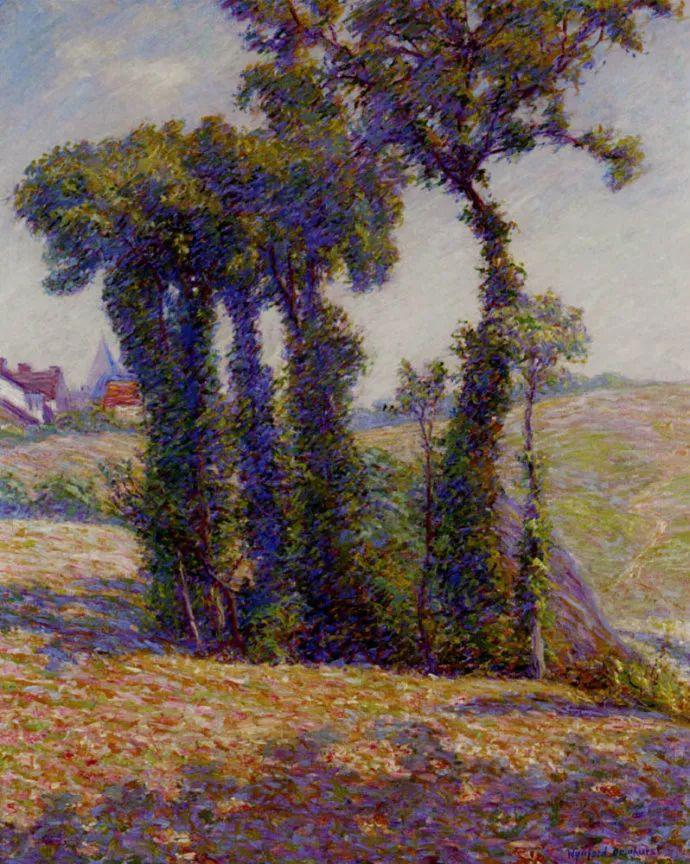 英国印象派画家Wynford Dewhurst插图19